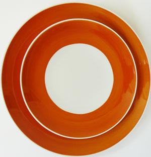 porcelaine personnalis e services d 39 assiettes de table. Black Bedroom Furniture Sets. Home Design Ideas